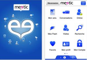 L'application Meetic