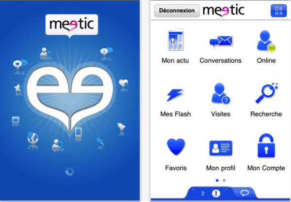 L'application Meetic
