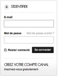 Connexion à votre espace client CanalSat
