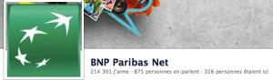 BNP sur les réseaux sociaux