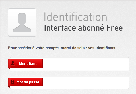 Identification Free Mon compte