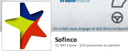 Sofinco sur Facebook