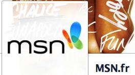 MSN sur Facebook