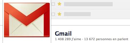 Gmail sur les réseaux sociaux
