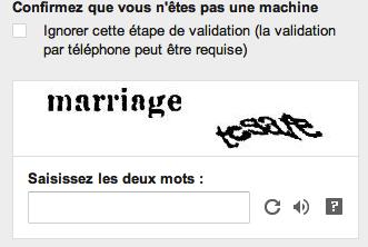 Êtes vous une machine ?