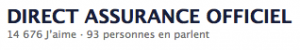 Direct Assurance sur Facebook