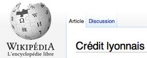 LCL sur Wikipédia