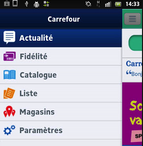 Applications Carrefour