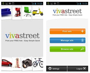 Les applications Vivastreet