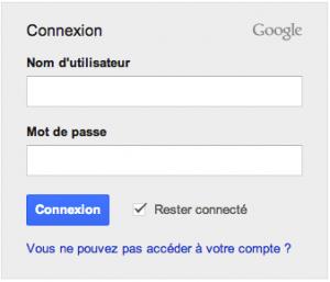 Connexion à votre compte Gmail