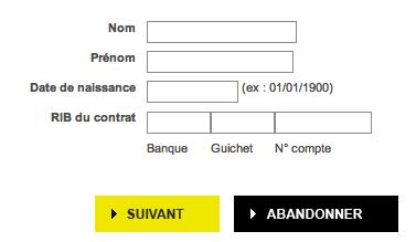 Remplissez le formulaire pour récupérer votre identifiant