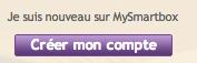 Créer votre compte MySmartbox