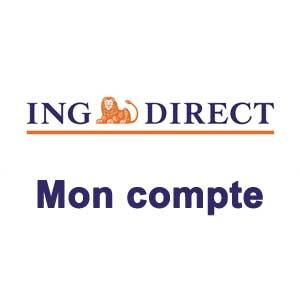 Mon compte sur ING Direct