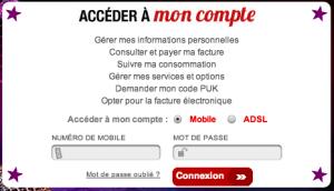 Connexion à votre espace client Virgin Mobile