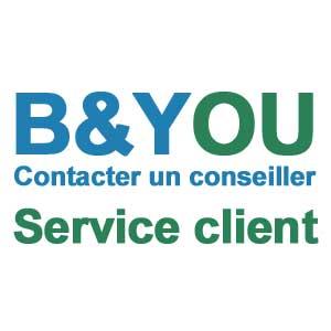 Contacter un conseiller B&You - B and You Service client