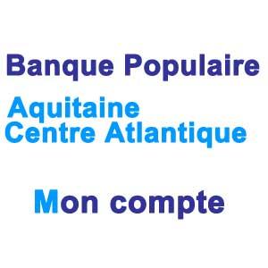 Mon compte sur www.bpaca.banquepopulaire.fr