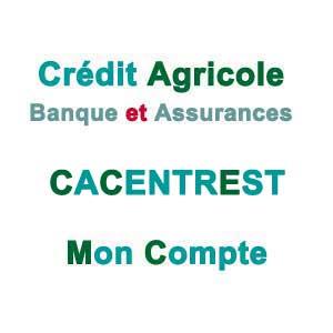 CACENTREST - Mes comptes en ligne