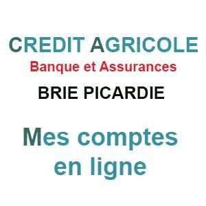 CA Brie Picardie - Mes comptes en ligne