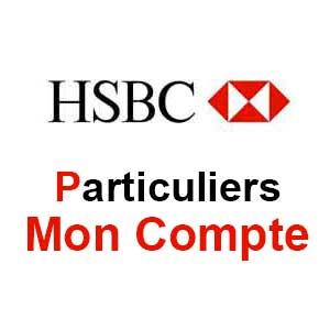 HSBC Particulier : Mes comptes en ligne