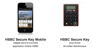 Le HSBC Secure Key