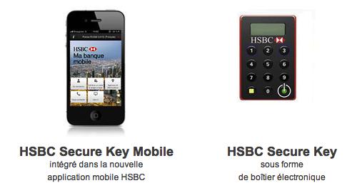 Le HSBC Secure Key