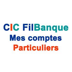CICFILBANQUE : Mes comptes en ligne