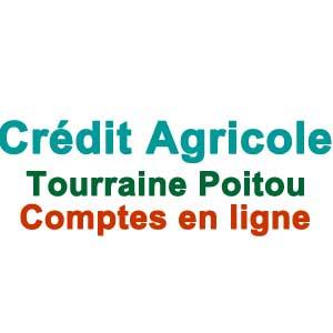 Crédit Agricole Touraine Poitou - Comptes en ligne