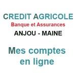 Accès à mes comptes en ligne CA Anjou Maine
