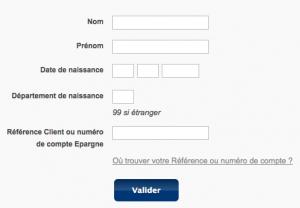 Remplissez le formulaire pour accéder à votre identifiant internet