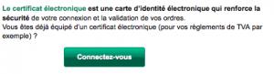 Connexion à vos comptes BNP Net Entreprise par certificat