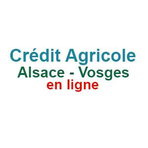 Crédit Agricole Alsace Vosges en ligne