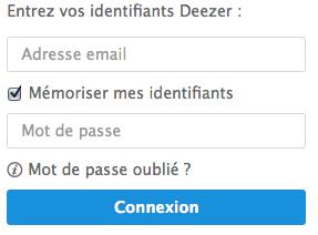 Entre votre adresse mail et votre mot de passe pour vous connecter