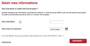 Remplissez le formulaire et choisissez votre mode d'envoi