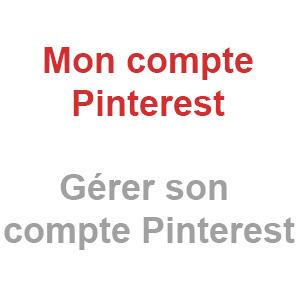 Mon compte Pinterest