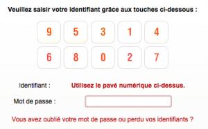 Connectez vous à votre compte Free Mobile en entrant votre identifiant et votre mot de passe