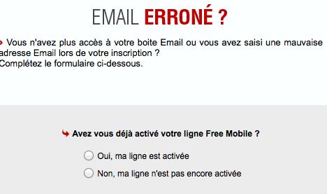 Si vous ne vous souvenez plus de votre mail Free, suivez les étapes
